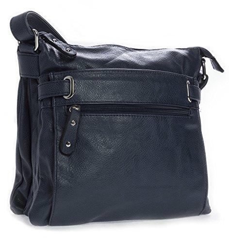 Messenger Pocket Multi Body Womens Medium Bags special Design Cross Navy q1n6gRZ