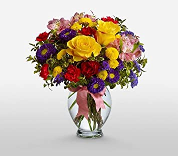 Amazoncom Spree Flower Country Flowers Delivery Same Day