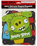 American Greetings Angry Birds Birthday Party Banner