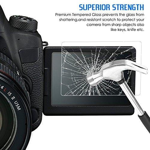 Screen Protectors Compatible Canon EOS 6D Mark II, AFUNTA 2
