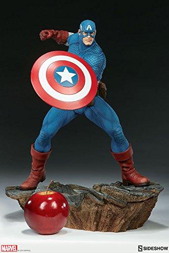 Marvel Sideshow Comics Avengers Assemble Captain America ()