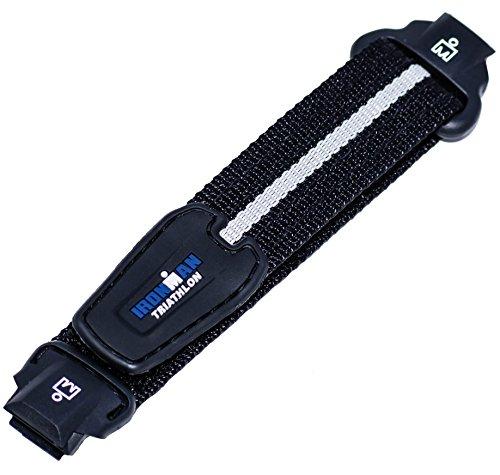 Timex 16mm IRONMAN Triathlon 30-Lap Black FastWrap Watchband T5H421, T5K6939J, - Black Fastwrap Watch