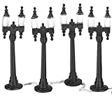 Department 56 Accessories for Villages Double Street Lamps Accessory Figurine (Set of 4)