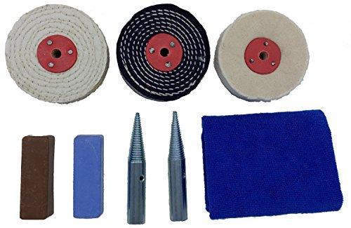 bench grinder polishing kit - 8