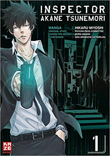 Inspector Akane Tsunemori Psycho Pass 01 9782889219773 Amazon