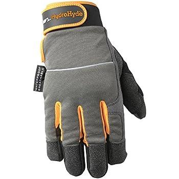 3af50c681c5d5 Men's HydraHyde Winter Work Gloves, Waterproof Insert, 40-gram Thinsulate,  X-Large (Wells Lamont 7739XL)
