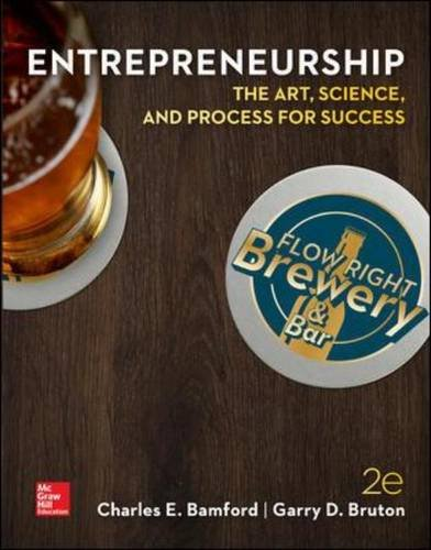 ENTREPRENEURSHIP: The Art, Science, and Process for Success by McGraw-Hill Education