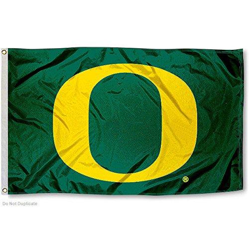UO Oregon Ducks University Large College Flag