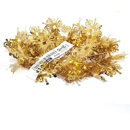 Yrsno IKEA Gold Christmas Tree Decoration Garland - Buy