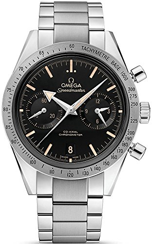 Omega Speedmaster 57 Chronograph Automatic Black Dial Stainless Steel Mens Watch 33110425101002 (Reloj Omega De compare prices)