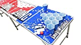 PartyPongTables.com Reusable HEXCUP Beer Pong Party Cup Set by PartyPong - 22 Cups & 3 Balls