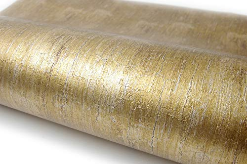 Lime Gold Pearl Interior Film Paper Self Adhesive Peel-Stick Removable Wallpaper(Lime Gold Pearl 6.5ft)