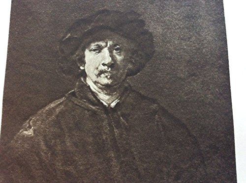 Listing 4) Litho Prints Worlds Famous Pictures( Self Portrait By Rembrandt Harmenszoon Van - Portrait 1900 Antique