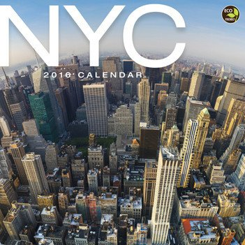 NYC Wall Calendar by TF Publishing 2016