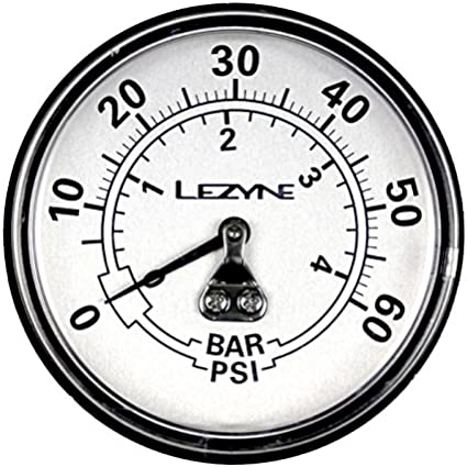"""Lezyne 220 PSI Gauge 2.5/"""""""