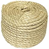Cheap 3/8″ X 100′ Sisal Rope CAT SCRATCHING POST other uses