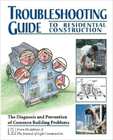 Book Troubleshooting Guide to Residential Construction by Steven Bliss (1997-02-01)