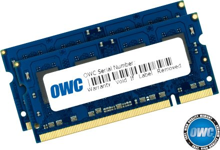 (OWC 6.0GB Kit (2.0GB+4.0GB) PC2-5300 DDR2 667MHz SO-DIMM 200 Pin Memory Upgrade Kit)