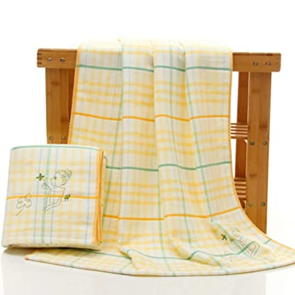 ZYJY Toalla de baño, Toalla de baño Grande de algodón Bordado para Adultos, 70