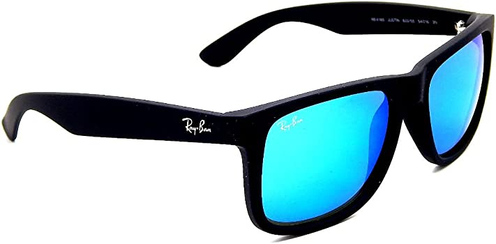 Ray Ban RB4165 622/55 Black/ Blue Mirror 55mm Sunglasses