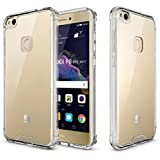 Plus Protective Soft Transparent Shockproof Hybrid Protection Back Case Cover With Packaging Kit For Huawei Honor 8 Smart