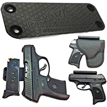 Samson Magnetic Gun Mount | Super Strong Holds 43lbs | Concealed Carry Gun Magnet Firearm Accessory | Pistol, Handgun, Rifle, Shotgun, Revolver, Airsoft, BB | Car, Home, Wall, Desk, CCW @GorillaMagnet