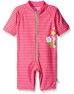 One-Piece Sunsuit by Iplay - Pink - 12 Mths