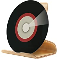 MOCOHANA Vinyl Record Display Stand Shelf Premium Wood LP Album Storage Holder Home Office Storage Rack Compatible with…