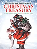 img - for The Saturday Evening Post Christmas Treasury: Classic Ready-to-Frame Prints and Coloring Pages (Adult Coloring) book / textbook / text book