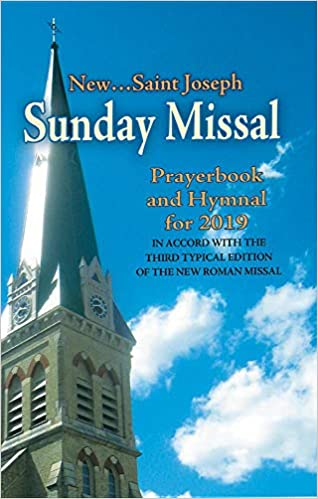 St  Joseph Sunday Missal and Hymnal for 2019 (Canadian