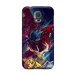 Samsung Galaxy S5 IWw16650nADQ Support Personal Customs High-definition Game Of Thrones Illustration Series Excellent Cell-phone Hard Cover -JamieBratt