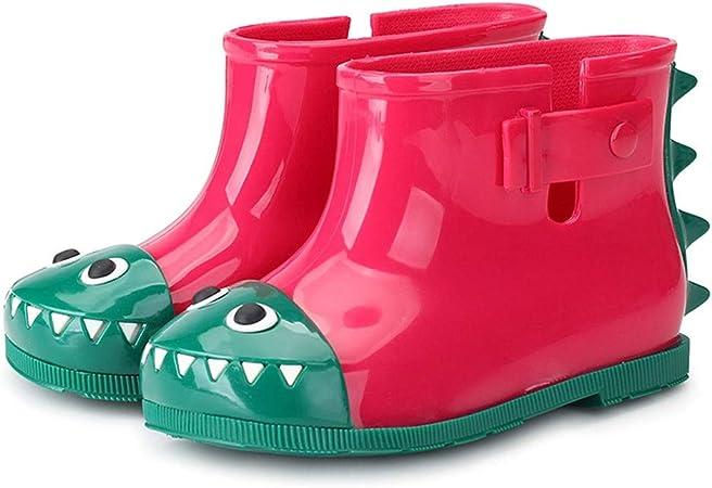Jaune Durable b/éb/é Rain Boot Bleu Mignon Enfants Chaussures de pluie