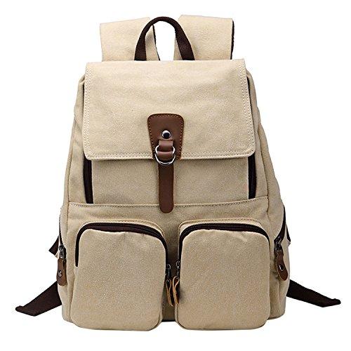 Shijinshi - Bolso mochila  para mujer Talla Unica Beige - beige