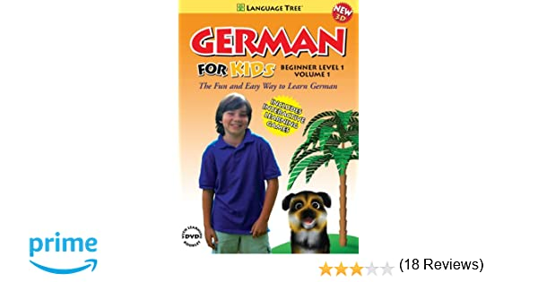 Amazon.com: German for Kids: Learn German Beginner Level 1 Vol. 1 ...