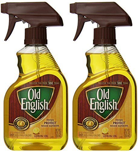 Old English, Lemon Oil, Trigger Sprayer, 12 Ounce (Pack of 2) (Furniture Polish)