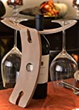 Napa Wine Bottle Caddy Wine Glass Holder Review