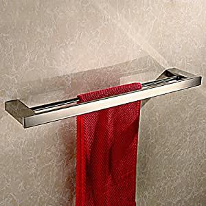 Hh - toalla de mano de barras de estilo contemporáneo - de la pared de anclaje