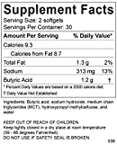 BodyBio Butyrate with Sodium - Supports Healthy
