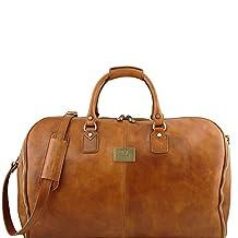 Tuscany Leather Antigua - Travel leather duffle/Garment bag - TL141538