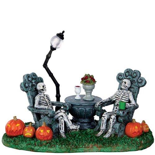 (Lemax 33014 Mausoleum Vacancy Spooky Town Table Accent Decor)