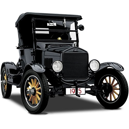 1 Ford 1920s 24 Vintage Antique Race Car 18 Rat Rod Hot Custom 12 F150 40 A Pre Built Metal Diecast GT Racer Sport Model T Classic Sportscar Racing Art Carousel Black gt40 (Custom Diecast Race Cars)