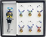 LS Arts 7 Piece Owl Gift Set, Multicolor