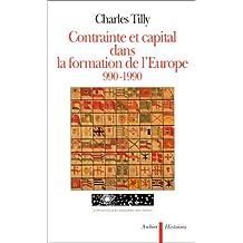 CONTRAINTE CAPITAL DANS FORMATION EUROPE 990-1990