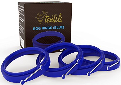New Egg Ring 4-Pk by YumYum Utensils
