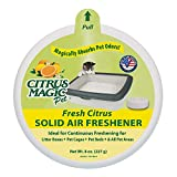 Citrus Magic Pet Odor Absorbing Solid Air Freshener Fresh Citrus - 8-Ounce