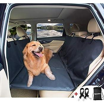 Backseat Dog Hammock >> Amazon.com: Bushwhacker® - Paws n Claws Backseat Pet Bridge - Ideal for Trucks, SUVs, and Full ...