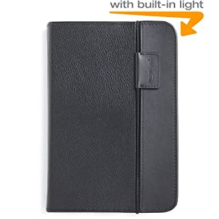 """Kindle Lighted Leather Cover, Black (Fits 6"""" Display, Latest Generation Kindle) (B003DZ165W)   Amazon Products"""