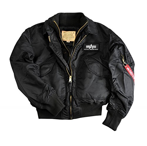 Negro Alpha Jacket Industries X force UIgw1qAIcW