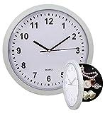 OBI - Reloj De Pared Redondo Con Compartimientos