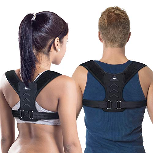 Posture Corrector for Men and Women,Upgraded Adjustable Upper Back Brace Straightener for Clavicle Support and Providing Pain Relief from Neck, Back and Shoulder(Universal)